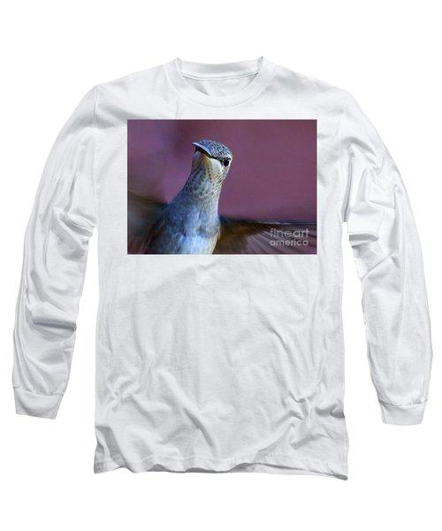 Hummingbird Encounter Long Sleeve T-Shirt