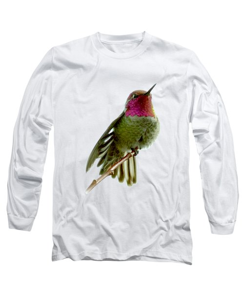 Hummingbird Portrait T1 Long Sleeve T-Shirt