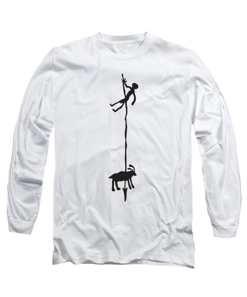 Hunting Petroglyph Long Sleeve T-Shirt
