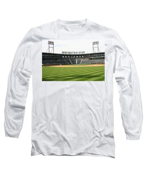 Huntington Park Baseball Field Long Sleeve T-Shirt