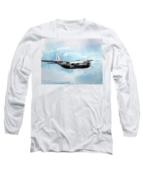 Hurricane Hunter Long Sleeve T-Shirt by R Kyllo