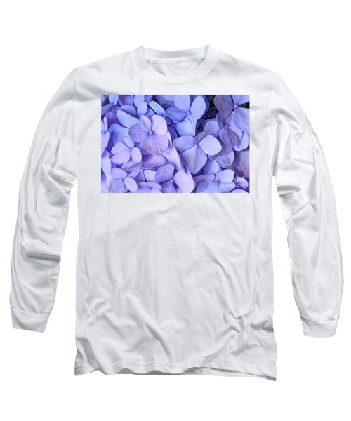 Long Sleeve T-Shirt featuring the photograph Hydrangea by Kerri Farley