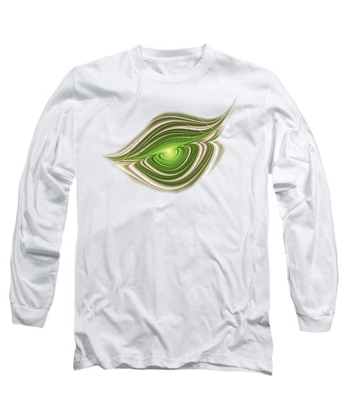 Long Sleeve T-Shirt featuring the digital art Hypnotic Eye by Anastasiya Malakhova