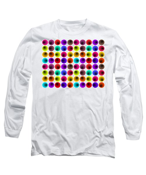 Hypnotized Optical Illusion Long Sleeve T-Shirt