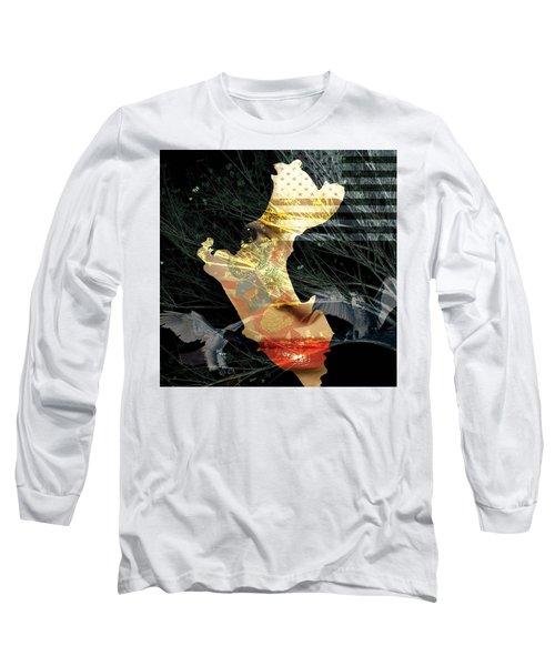 I Am An American Long Sleeve T-Shirt