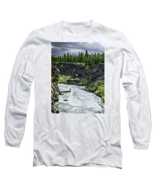 I Am River Hear Me Roar Long Sleeve T-Shirt