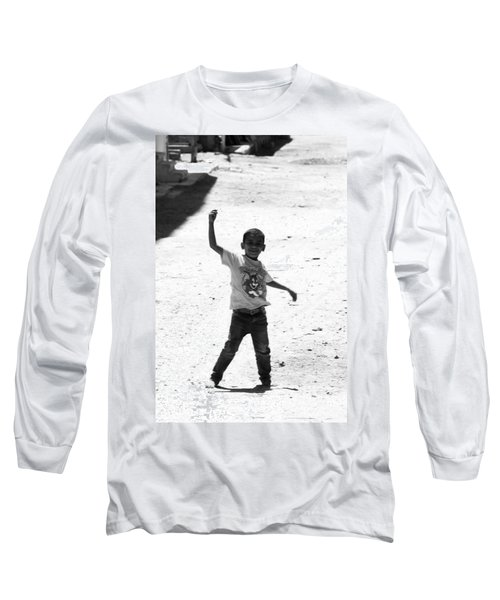 I Am The Champion  Long Sleeve T-Shirt by Jez C Self