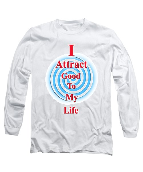 I Attract Red White Blue Long Sleeve T-Shirt