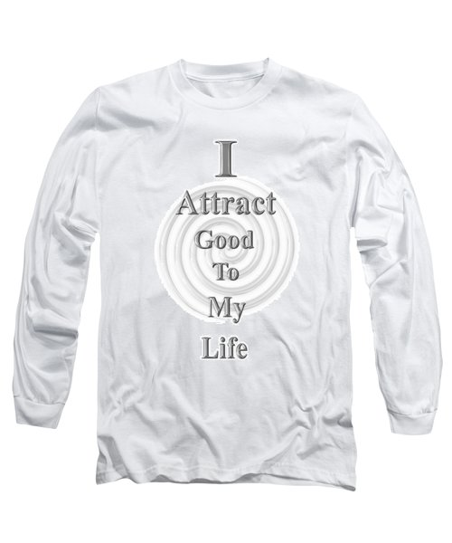 I Attract Silver Long Sleeve T-Shirt