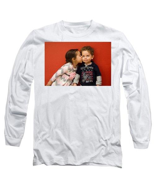 I Give You A Kiss Long Sleeve T-Shirt