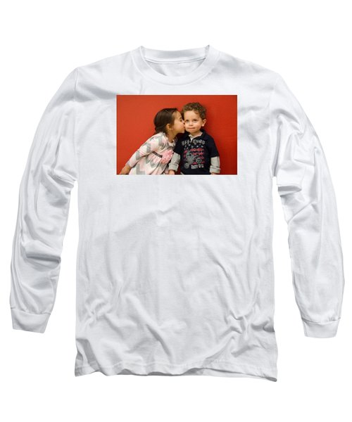 I Give You A Kiss Long Sleeve T-Shirt