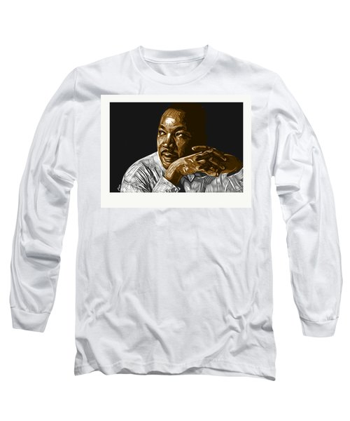 Long Sleeve T-Shirt featuring the digital art I Have A Dream . . . by Antonio Romero