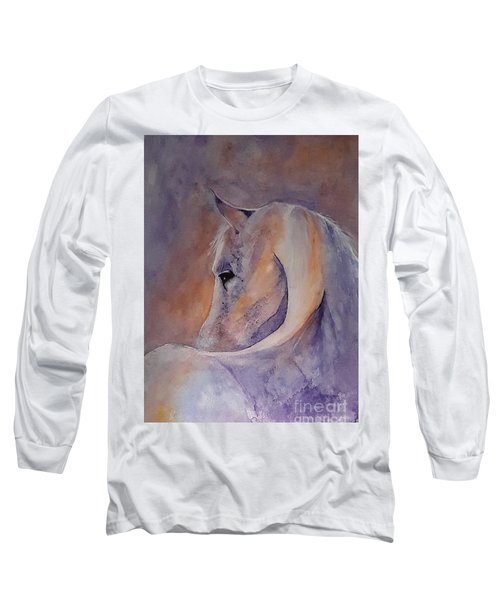 I Hear You - Painting Long Sleeve T-Shirt by Veronica Rickard
