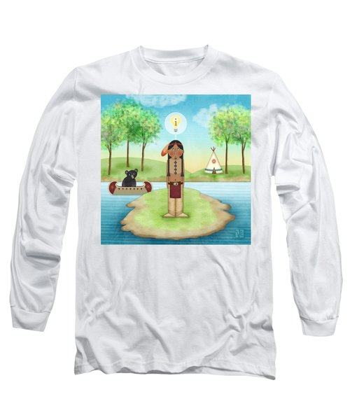 I Is For Indian Long Sleeve T-Shirt