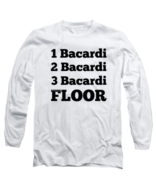 I Love Bacardi Long Sleeve T-Shirt