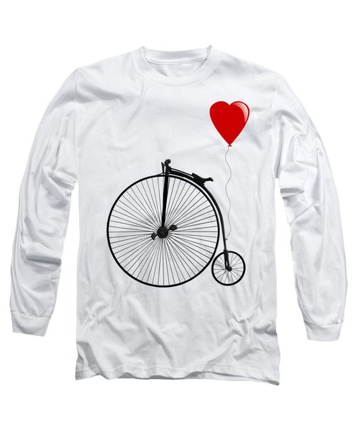 I Love Cycling Long Sleeve T-Shirt