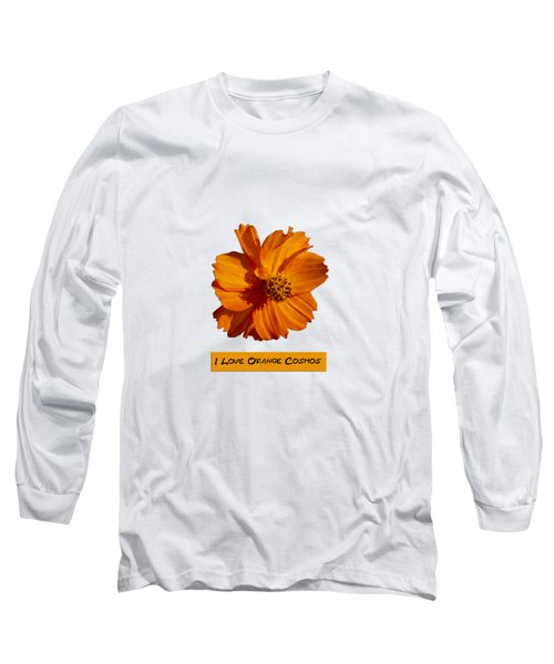 I Love Orange Cosmos 2018-1 Long Sleeve T-Shirt