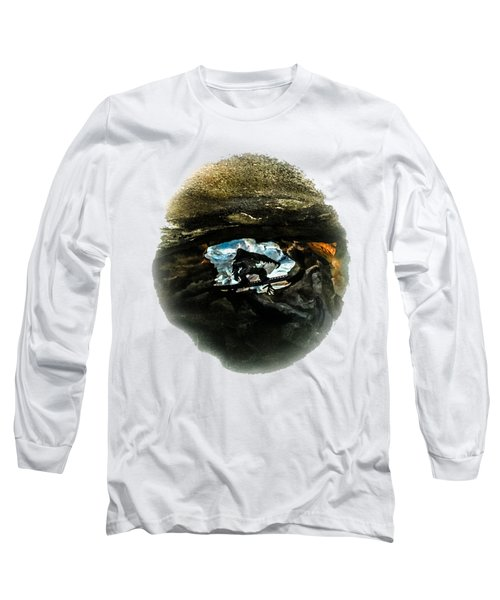 I Seen The Yeti Long Sleeve T-Shirt by Gary Keesler