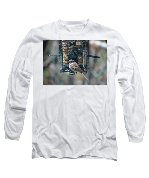 I Sing For My Supper Long Sleeve T-Shirt