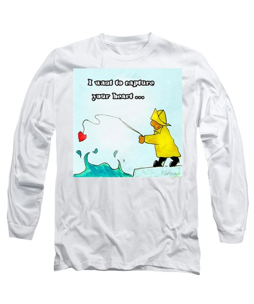 I Want To Capture Your Heart Long Sleeve T-Shirt