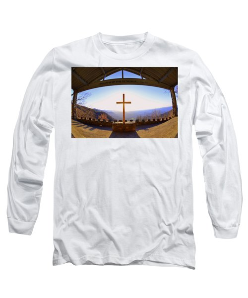I Will Lift My Eyes To The Hills Psalm 121 1 Long Sleeve T-Shirt