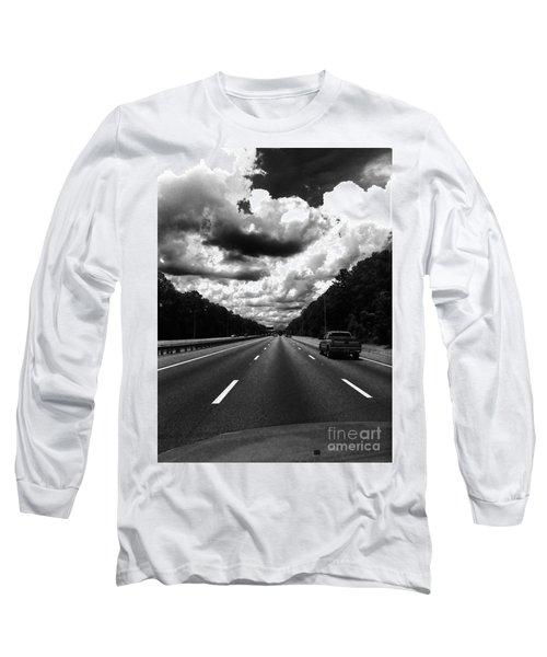 I95 Clouds Long Sleeve T-Shirt by WaLdEmAr BoRrErO