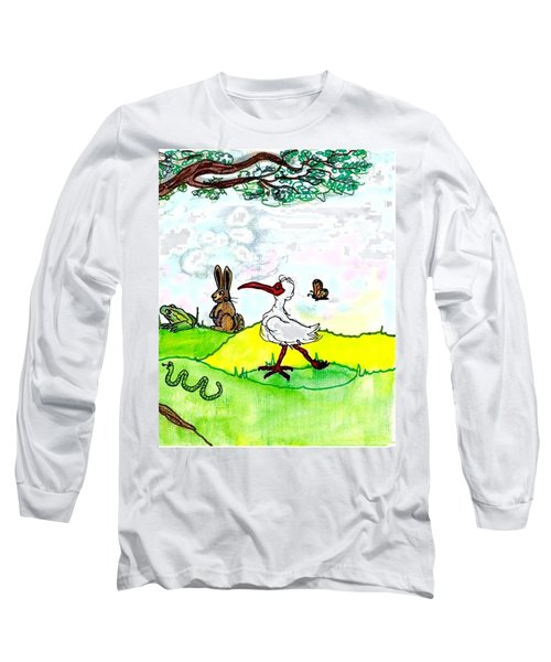 Ibis And Friends Listening Long Sleeve T-Shirt