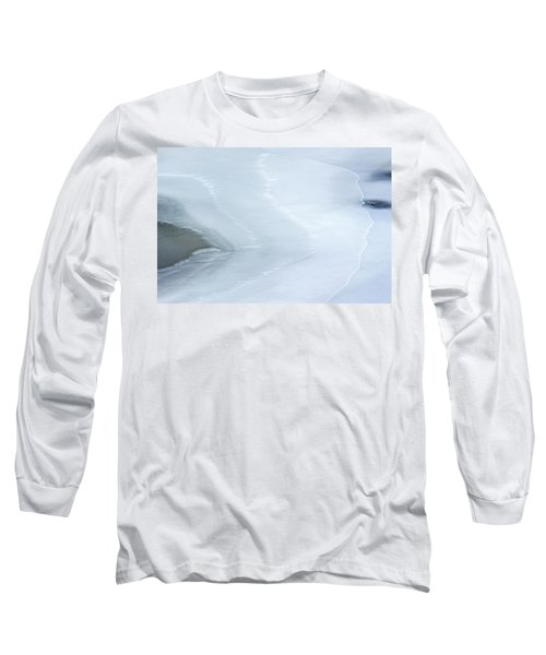 Ice Abstract 3 Long Sleeve T-Shirt