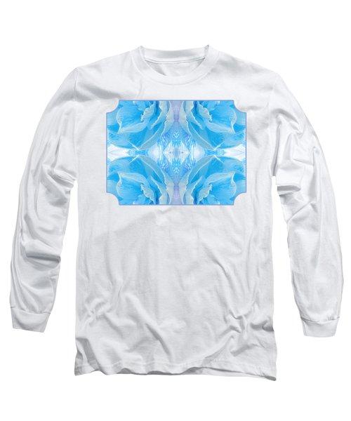 Ice Cool Blue Long Sleeve T-Shirt