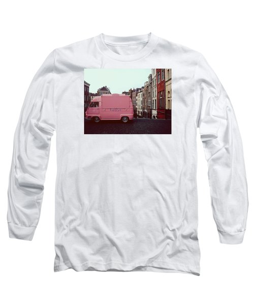 Ice Cream Car Long Sleeve T-Shirt by Myrthe V