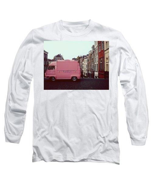 Ice Cream Car Long Sleeve T-Shirt