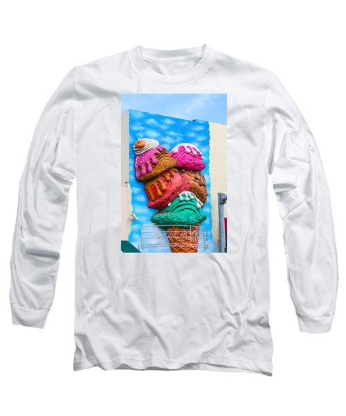 Ice Cream Code Building Long Sleeve T-Shirt