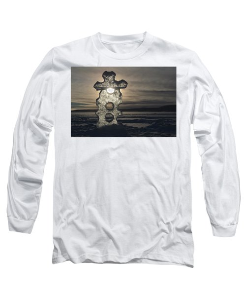 Ice Sculpter Long Sleeve T-Shirt by Scott Holmes