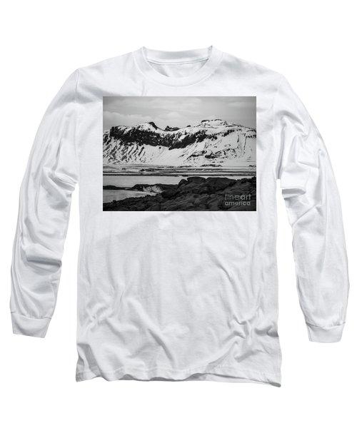 Icelandic Idyll Near Vik Long Sleeve T-Shirt