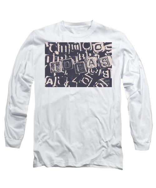 Idea Blocks Long Sleeve T-Shirt