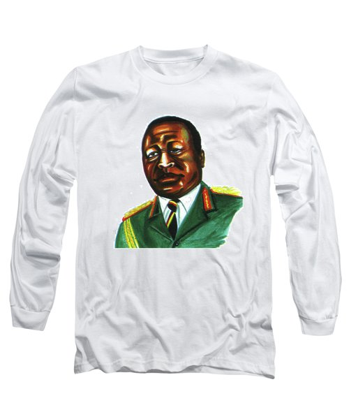 Idi Amin Dada Long Sleeve T-Shirt by Emmanuel Baliyanga