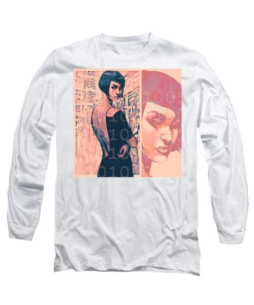 Idoru Long Sleeve T-Shirt by Udo Linke