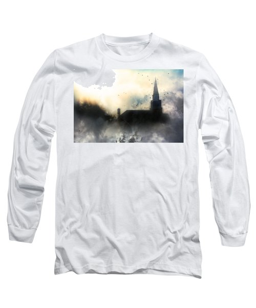 Long Sleeve T-Shirt featuring the painting I'll Fly Away by Gray  Artus