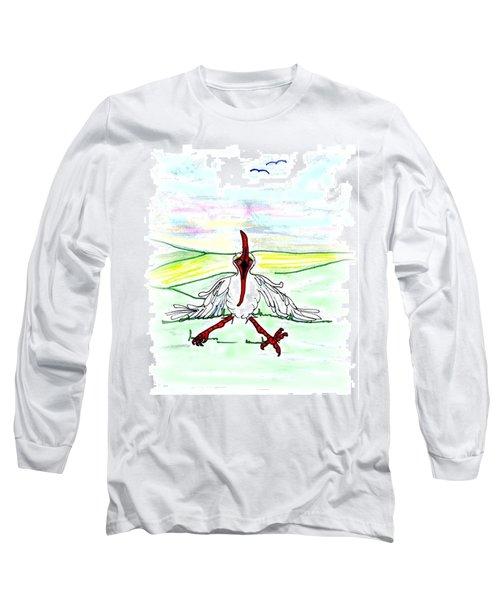 I'll Never Fly Again Long Sleeve T-Shirt