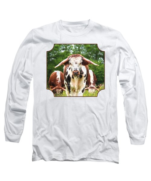 I'm In Charge Here Long Sleeve T-Shirt