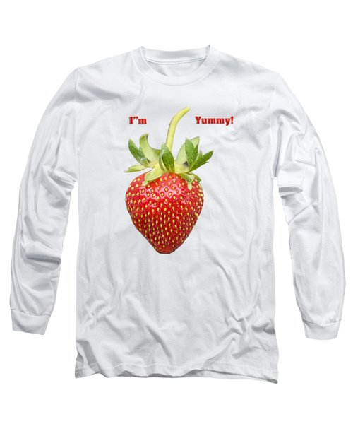 Im Yummy Long Sleeve T-Shirt by Thomas Young