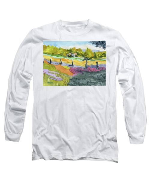 Imagine The Colors Long Sleeve T-Shirt