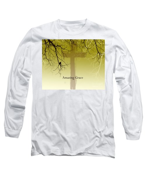 Immanuel- My Saviour Long Sleeve T-Shirt by Trilby Cole