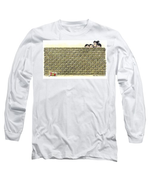 Immigrant Kids At The Border Long Sleeve T-Shirt