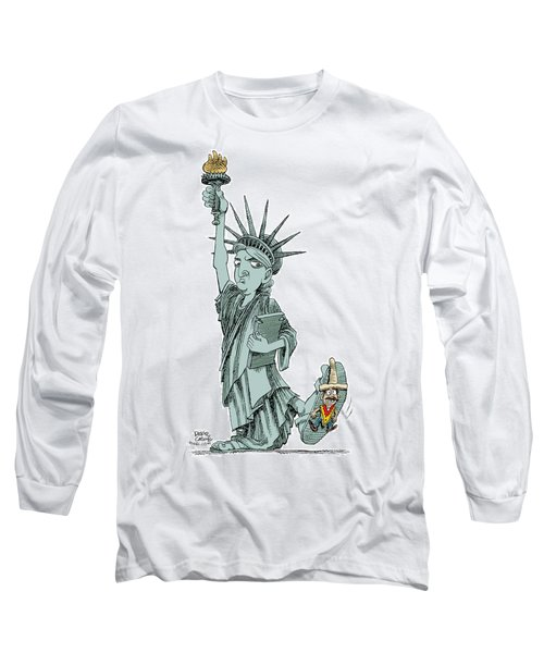 Immigration And Liberty Long Sleeve T-Shirt