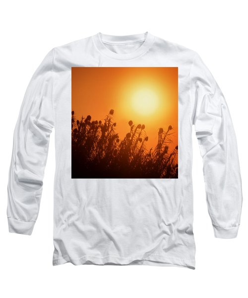 Impalila Island Sunset No. 3 Long Sleeve T-Shirt by Joe Bonita