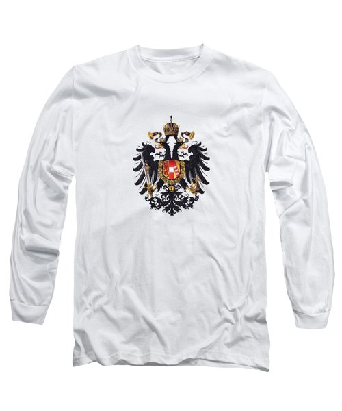 Imperial Coat Of Arms Of The Empire Of Austria-hungary 1815 Transparent Long Sleeve T-Shirt