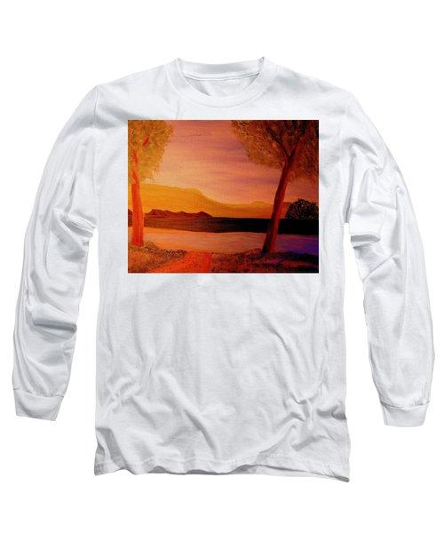 Impression Dawn Long Sleeve T-Shirt by Bill OConnor