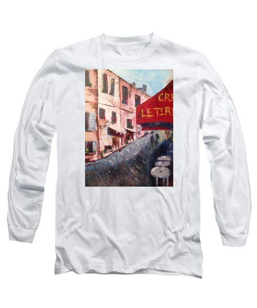 Impressions Of A French Cafe Long Sleeve T-Shirt