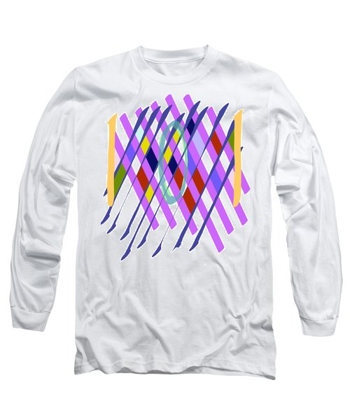 Improvised Geometry #1 Long Sleeve T-Shirt